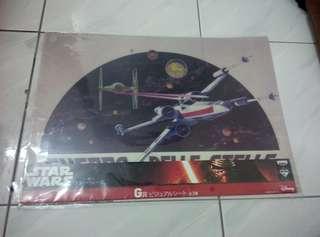Star wars table mat 21' inch