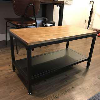 Loft style coffee table
