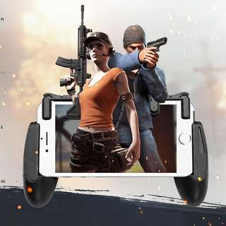 Mobile Shooting Trigger Button + Game Control Phone Handle