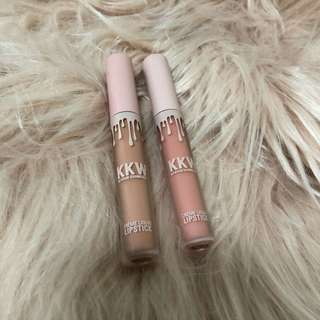 Authentic KKW Lipsticks (Kim and Kimberly)