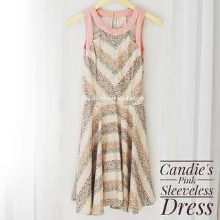Candie's Pink Sleeveless Dress