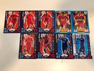 利物浦足球卡liverpool football card
