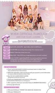 [[CLOSED]] WJSN 2ND GEN UJUNG MEMBERSHIP