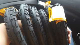 Continential tour ride tyres 12""