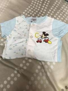 Disney miki clothes set 0-3month