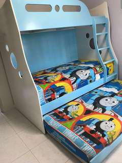 Kids Bunk Bed (without mattresses)