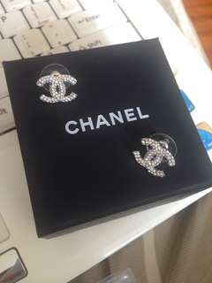 Authentic Vintage Preowned Chanel earrings