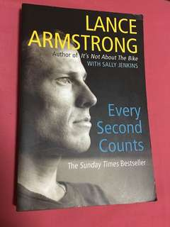Lance Armstrong - every second counts