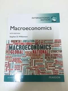 🚚 Macroeconomics 總體經濟學用書