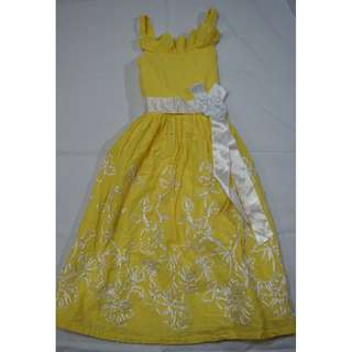 Bonnie and Jean Yellow Dress