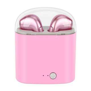 (現貨)I7s 升級版,雙耳連充電盒藍牙Bluetooth for sports, wireless headphone, I7S-tws,iphone, android, Airpod style