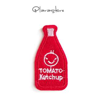Bn tomato ketchup iron on patch