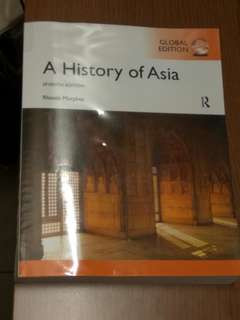 A History of Asia (HY1101E)