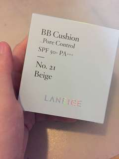 Laneige Pore Control BB Cushion No.21 Beige