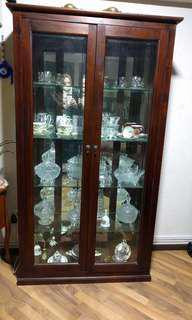 Display/crystal cupboard