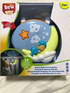 Bru Starry Night Crib Projector