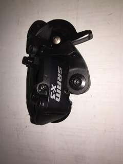 SRAM  X3 rear derailleur 7 speed