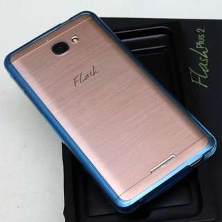 Alcatel Flash Plus 2 (3GB RAM/ 32 GB ROM variant) - gold triple slot Android phone