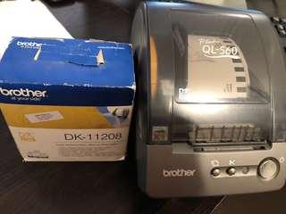 Thermal printer Brother QL-560
