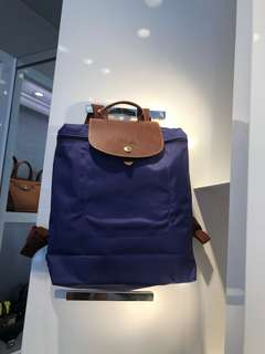Long Champ le pliage back pack for pre-order 5,700 plus sf