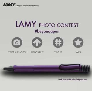 Lamy Safari Dark Lilac Ballpoint (Purple)