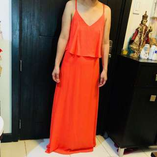 Apartment 8 Coral Long Gown (Small)