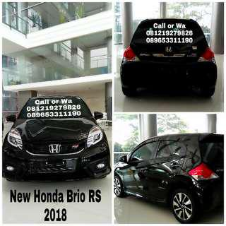 Promo New Honda Brio RS 2018