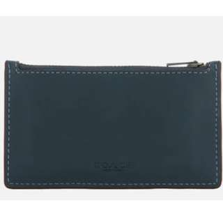 Coach Women's Zip Card Case - Denim