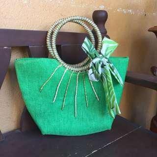 Bright Green Native Bag