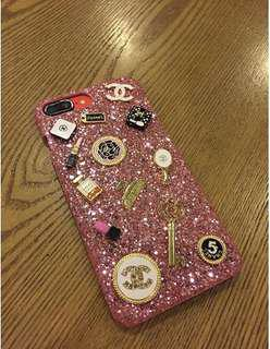 Glitter Chanel IPhone