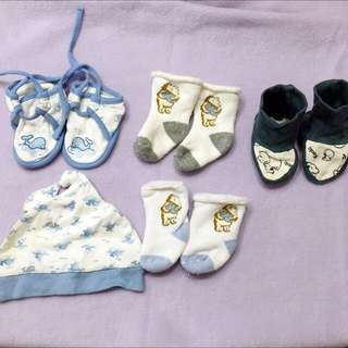 Baby Shoes,socks & hat 全部$50