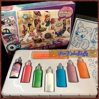 🚚 DIY Glass Stickers Gift Set