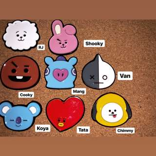 BT21 Enamel Pins