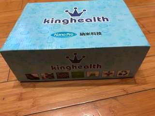 Kinghealth 黑色真皮返學鞋 超正 $180