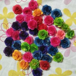Handmade Wooden Flowers (Assorted - Set only)