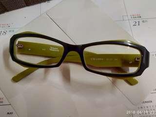 Vivienne Westwood 95%New 灰色撞wasabi綠色型格眼鏡框