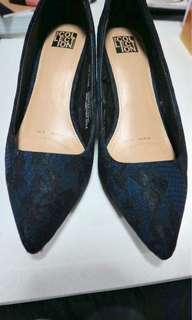 Debenhams blue pumps