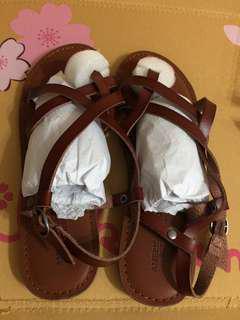 🚚 AMERICAN EAGLE 真皮涼鞋