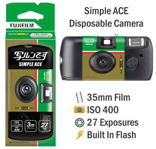 Fujifilm Simple Ace Disposable Camera