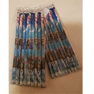 Frozen theme pencils - 2 packs (18pcs)