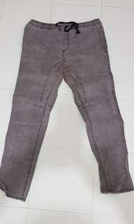 Plus Size Unisex Drop Crotch Pants