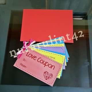 Customize Coupons / Coupon Booklet