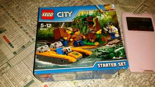 100%new Lego (City)(Box is NOT perfect), trade in Tuen.Mun  15$ by mail  屯門交收