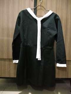 Black Mini Dress List White