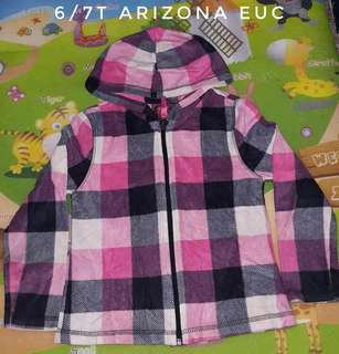 6-7t hooded jacket