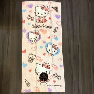 Original Hello Kitty Face Towel