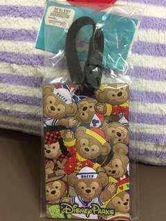 🚚 香港迪士尼達菲行李吊牌