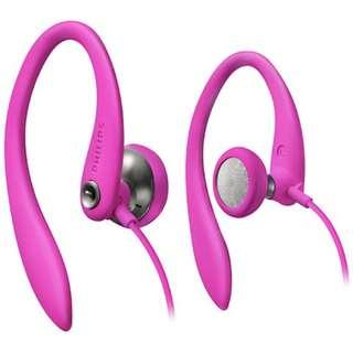 Philips Pink Headphones