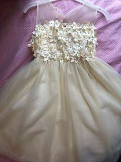 Bloom wedding dress for girls aged 5-6