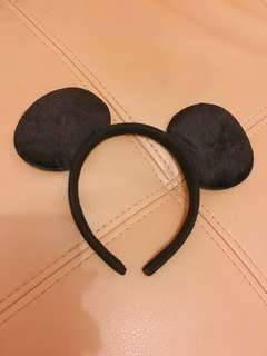 Mickey Mouse Black Headband